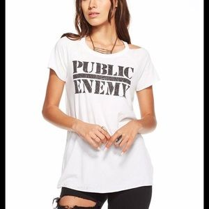 Chaser Public Enemy burnout tee